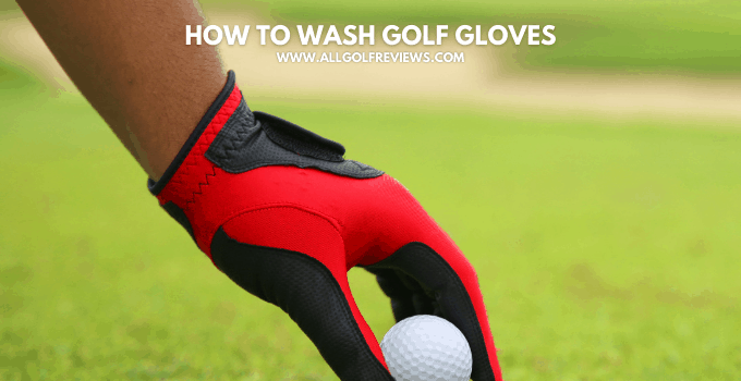 How to Wash Golf Gloves