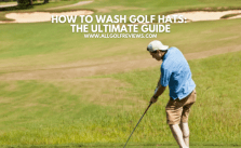 How to Wash Golf Hats