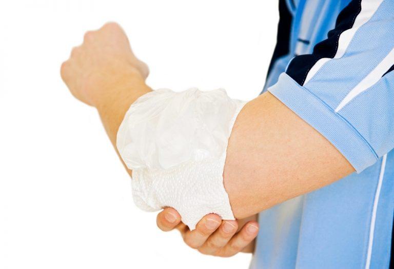How do you treat a golfer's elbow