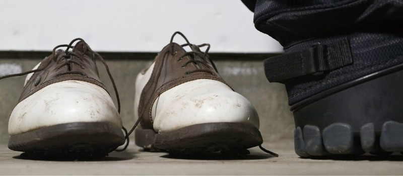 Can You Wear Golf Shoes On Concrete